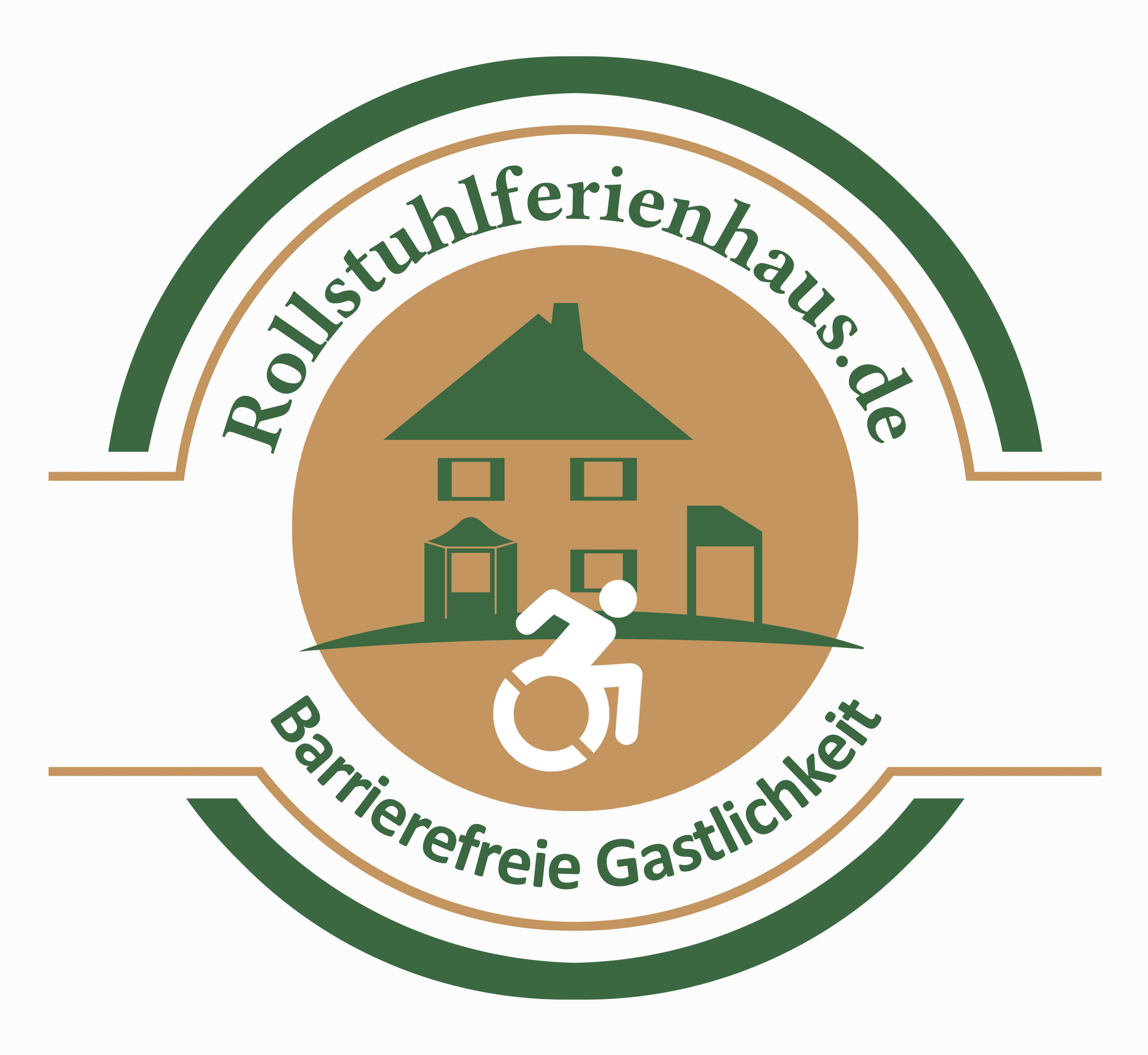 Rollstuhlferienhaus Logo